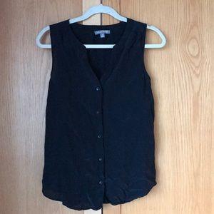 NEVER WORN 100% silk black top